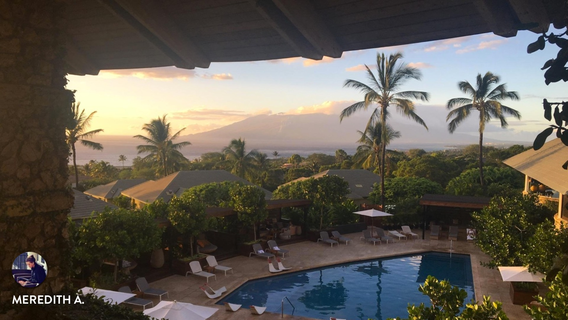 Guest story from Meredith at Hotel Wailea