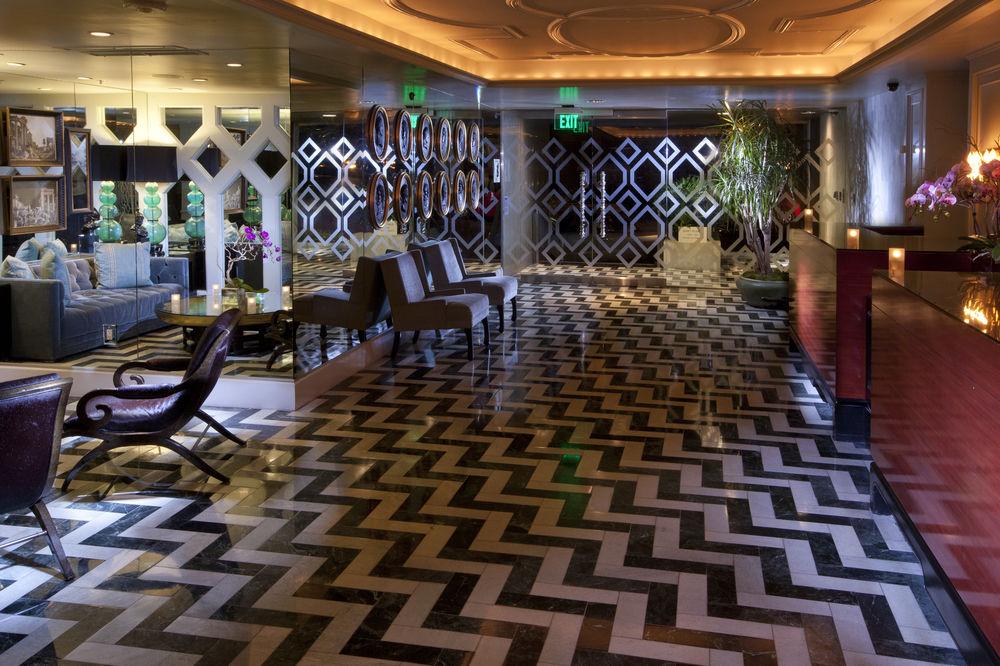 Lobby at Chamberlain West Hollywood