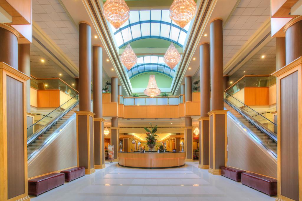 Florida Hotel Foyer