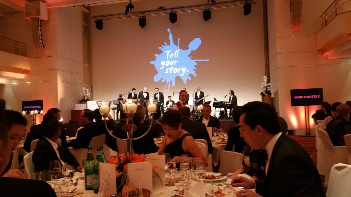 Worldhotel Conference dinner