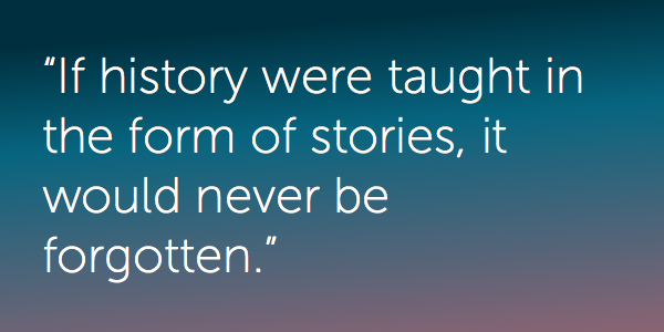 Quote from Rudyard Kipling on stories