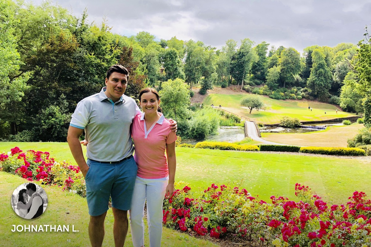 Story from Johnathan L., recent guest at Druids Glen Hotel and Golf Resort