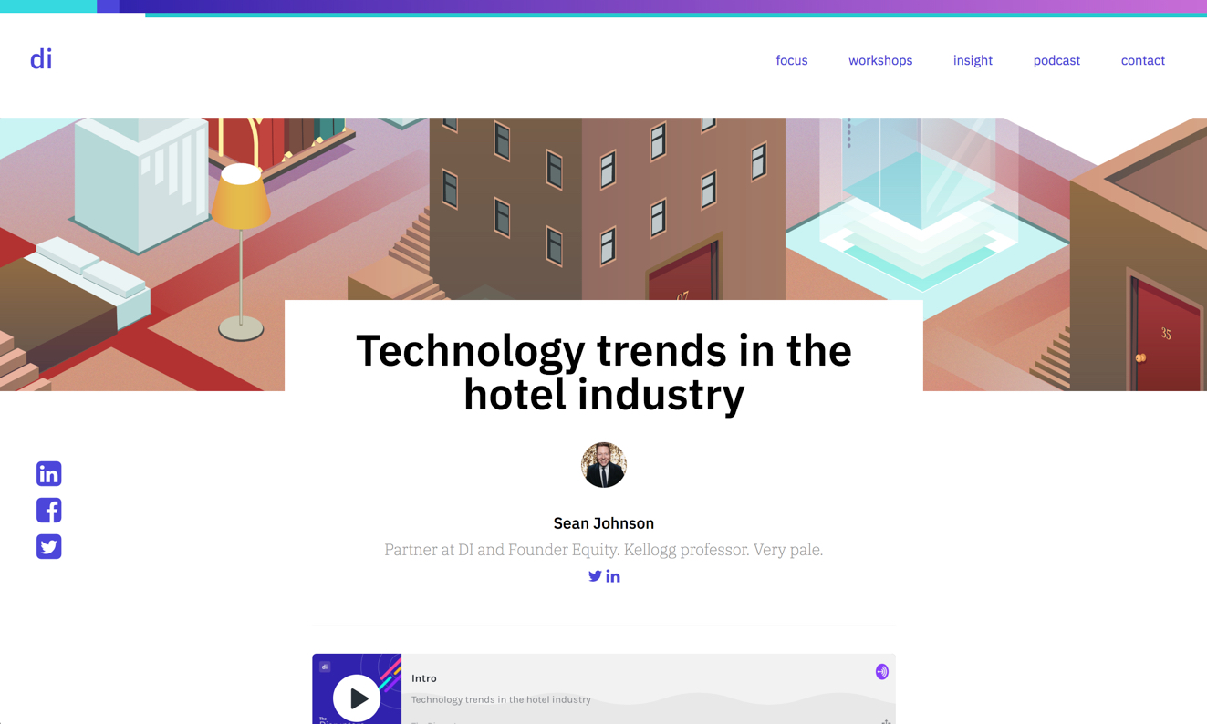 Technology trends in the hotel industry: Spotlight on Jordan Hollander