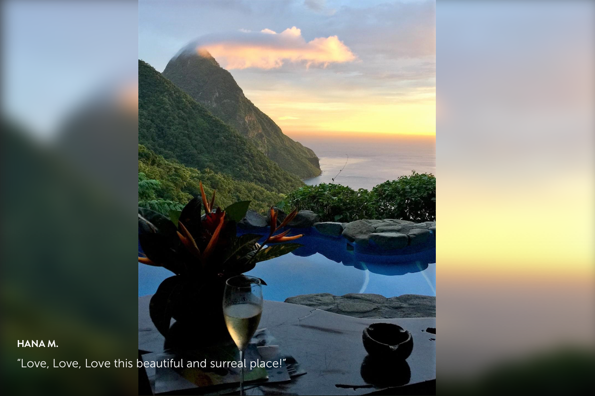 Ladera Resort – Soufriere, Saint Lucia